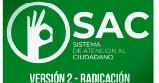 SAC V2.0 NUEVA RADICACIÓN