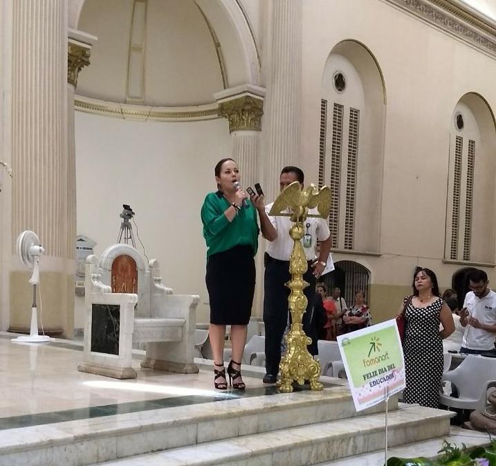 Palabras Secretaria Educación Municipal Dra. Doris Angarita Acosta