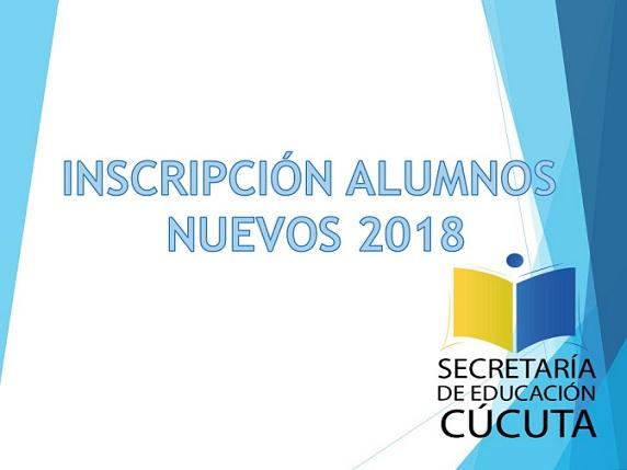 FORMATO DE INSCRIPCIÓN 2018