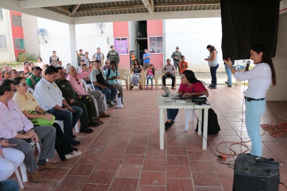 ADMINISTRACIÓN MUNICIPAL Y FINDETER INSPECCIONARON OBRAS