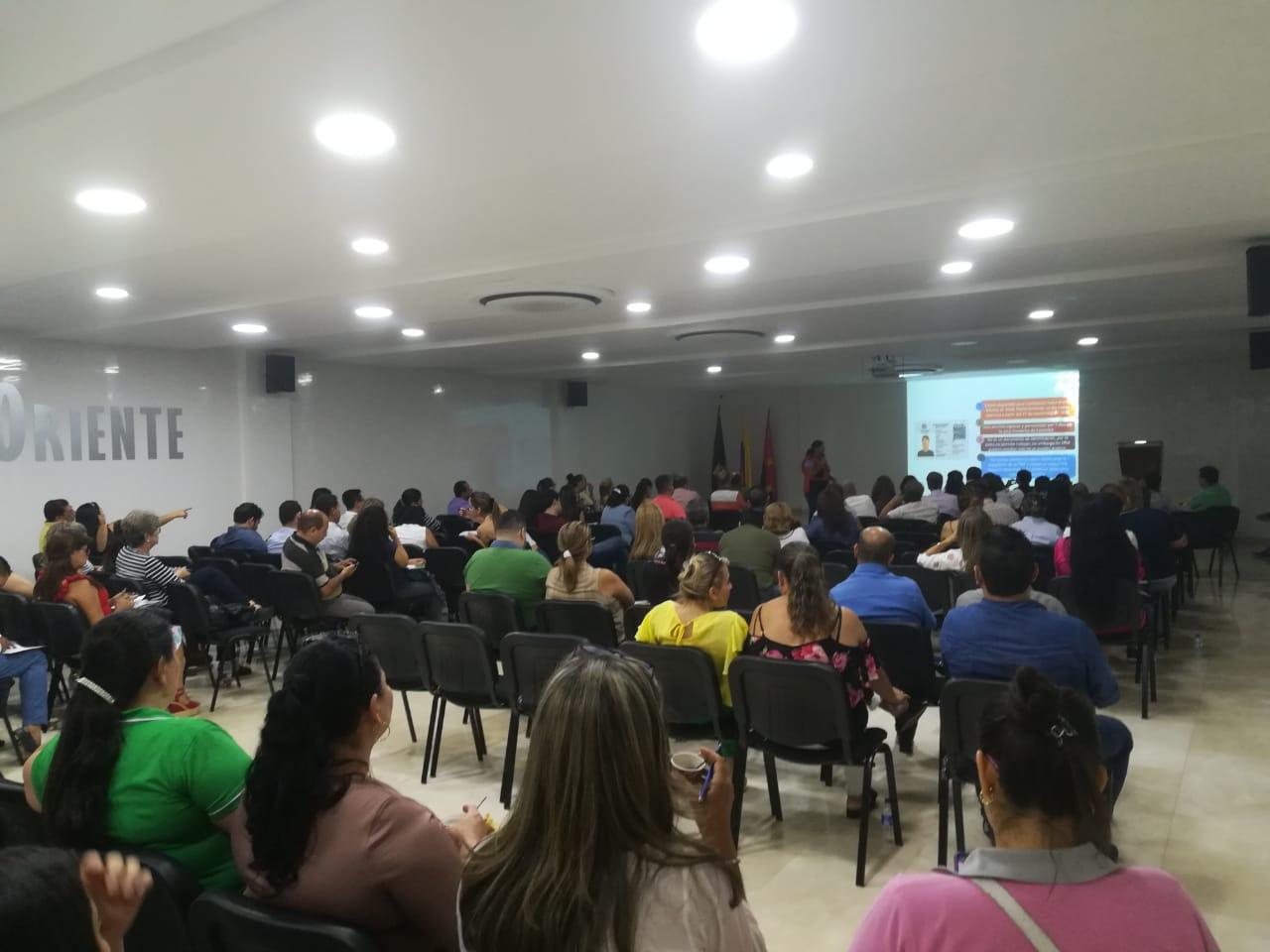 CAPACITACION RUTAS DE ACCESO EDUCATIVO