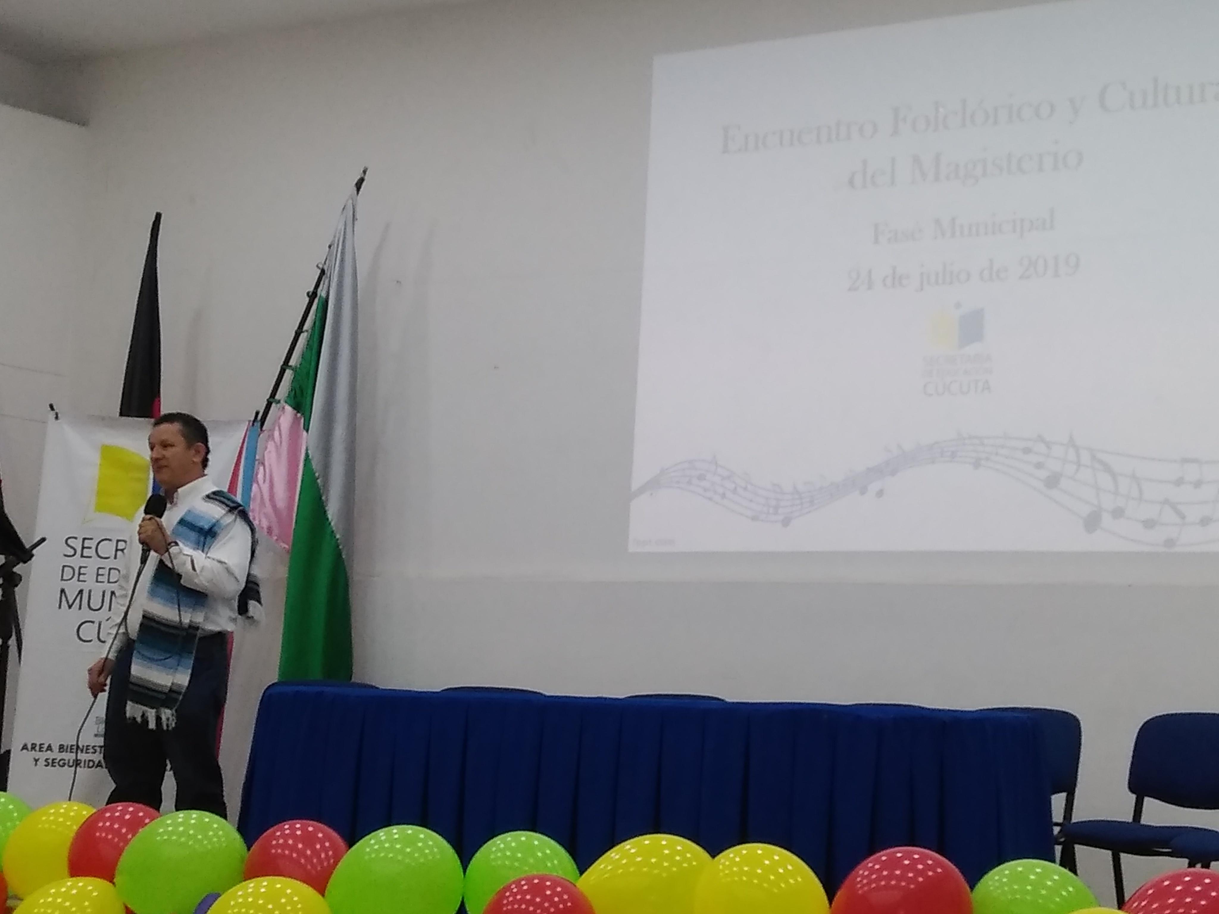 ENCUENTRO FOLCLÓRICO Y CULTURAL DEL MAGISTERIO