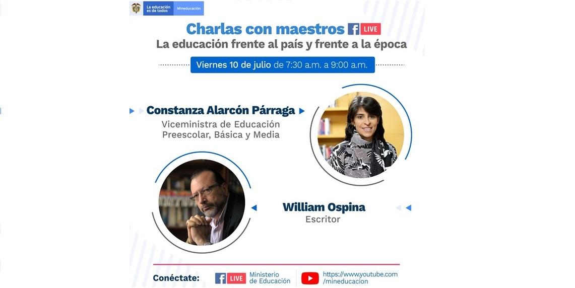 CHARLAS  CON MAESTROS
